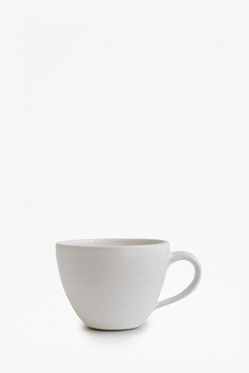Complete the Look Artisan White Cappuccino Mug