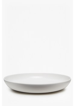 Artisan White Salad Bowl