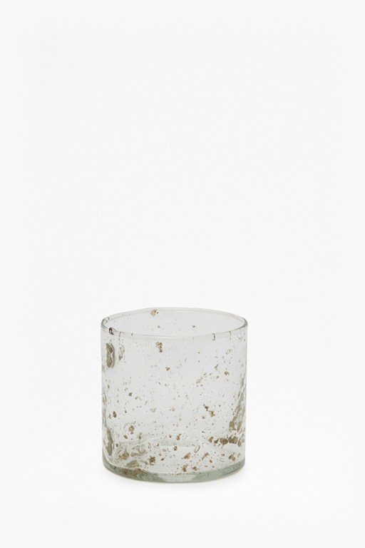 luxe medium glass tumbler