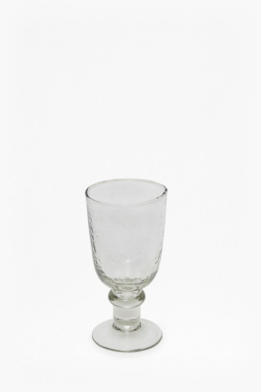 Complete the Look Hammered Wine Glass