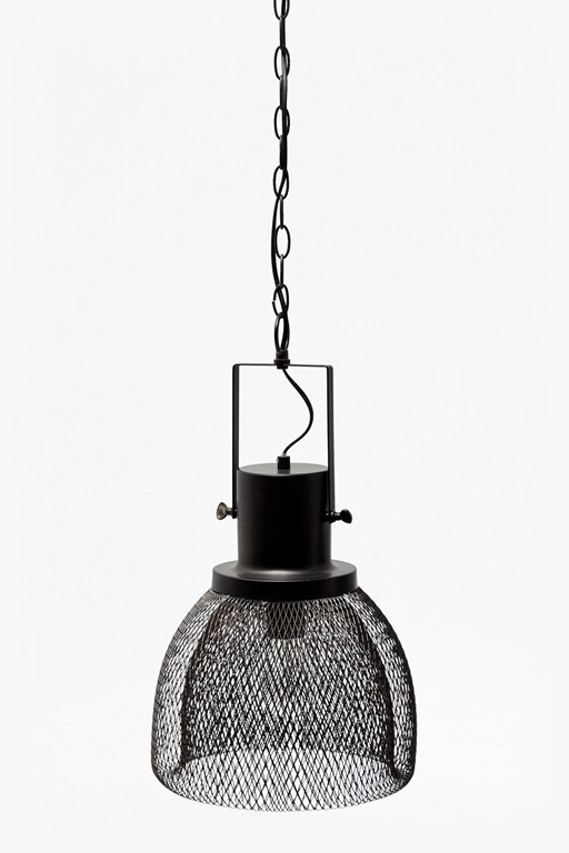 Lighting modern industrial lighting french connection industrial mesh ceiling light aloadofball Image collections
