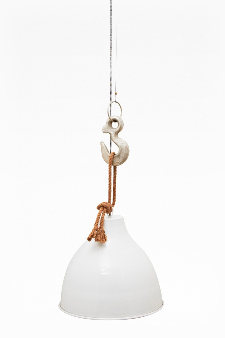 Hook and rope pendant light homeware french connection hook and rope pendant light loading images aloadofball Choice Image