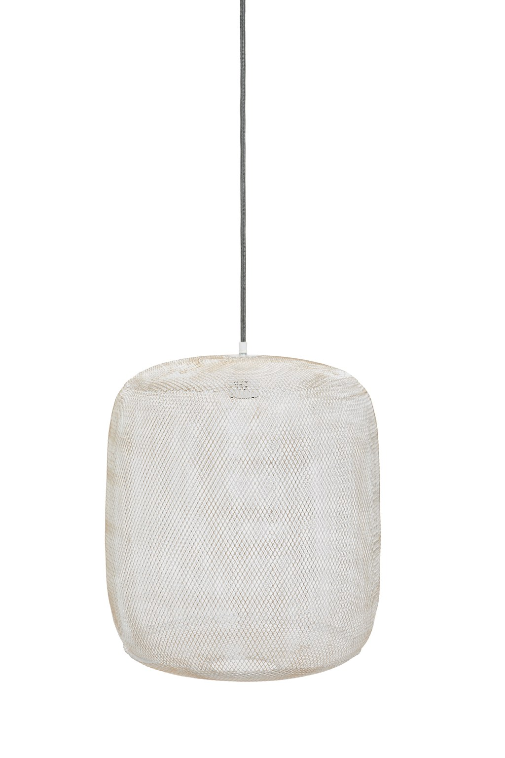 white mesh pendant light  home old season  french connection - loading images