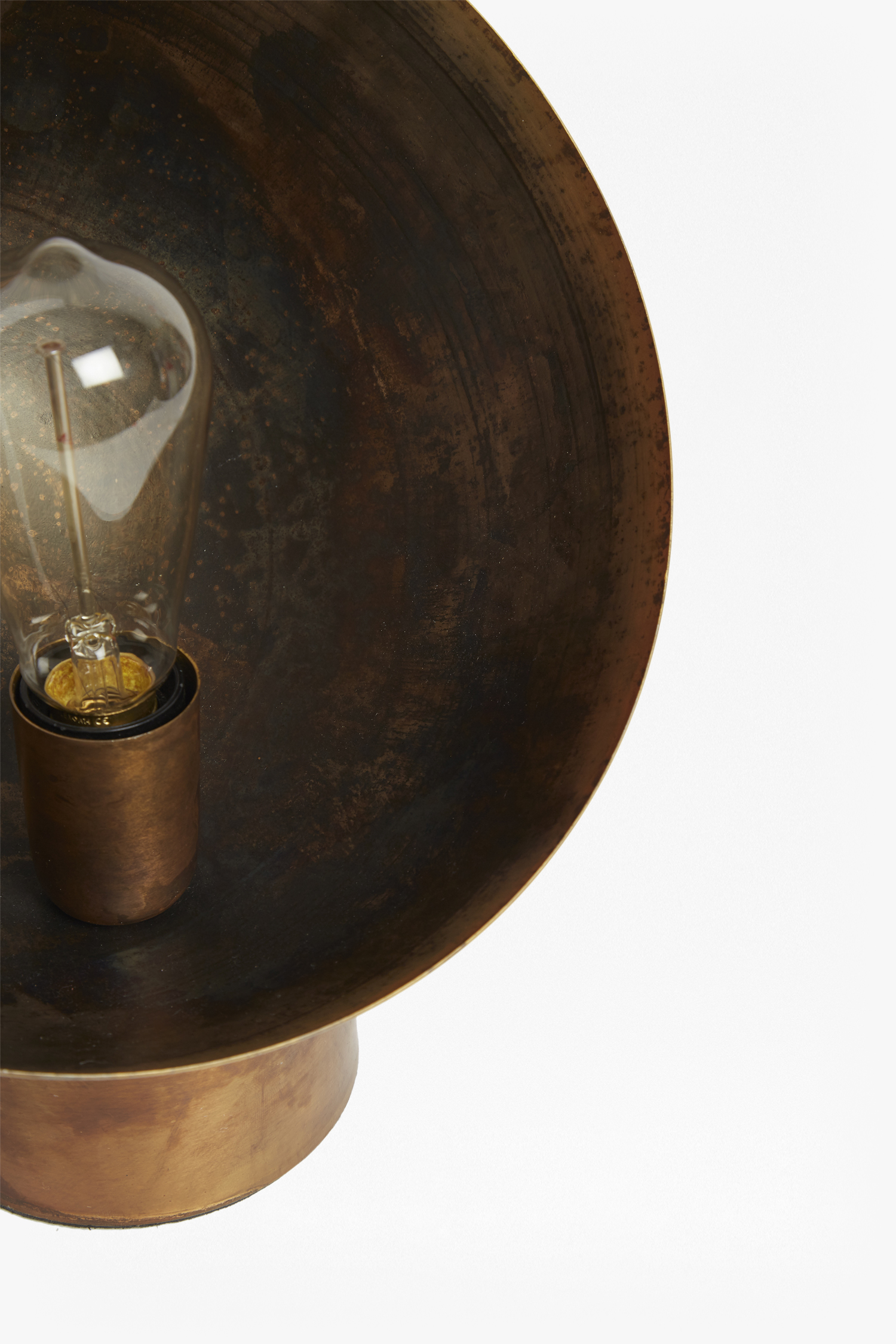Molten Copper Table Lamp | Collection