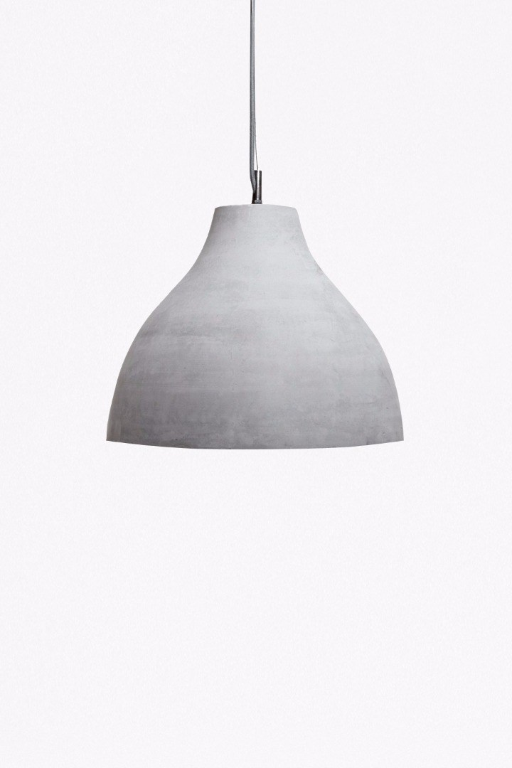 Concrete pendant light collection french connection concrete pendant light loading images aloadofball Gallery