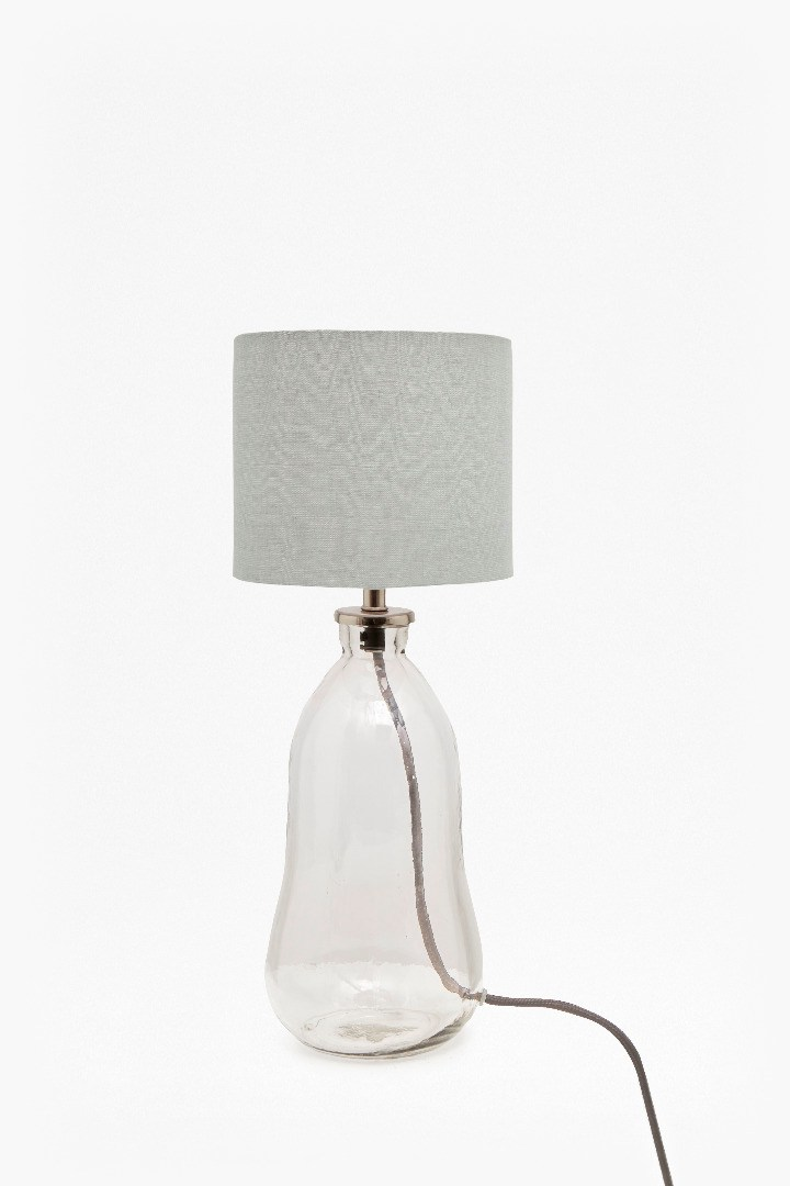 Small glass table lamp collection french connection small glass table lamp loading images aloadofball Gallery