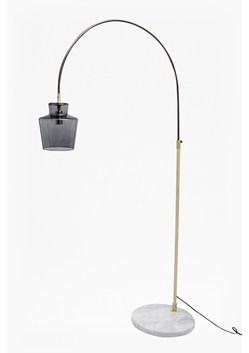 Smoked Floor Lamp