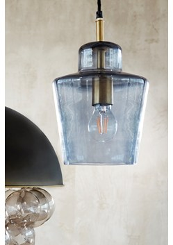 Smoked Ceiling Lamp