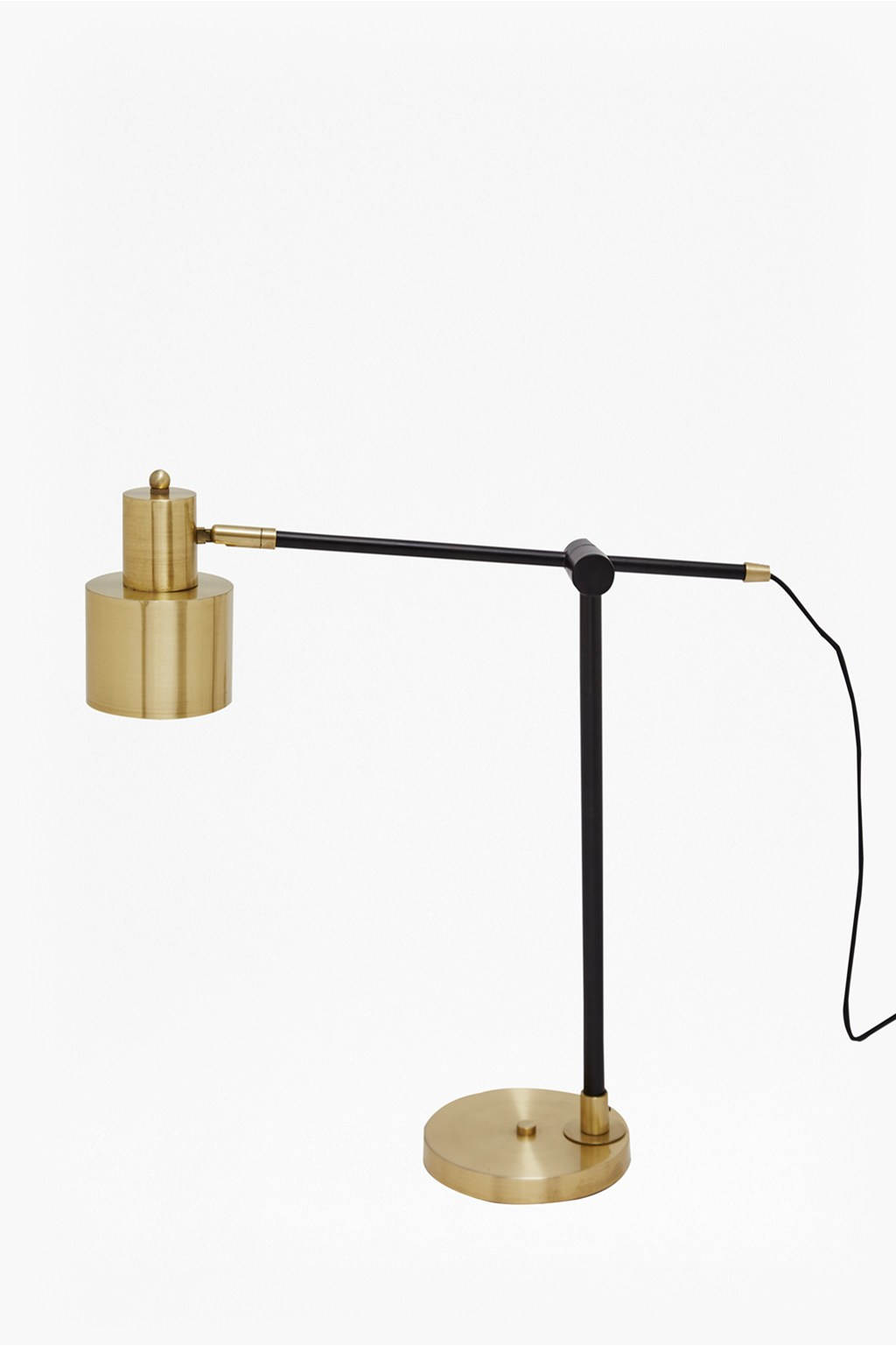 Brass And Matte Black Table Lamp | Collection | French Connection