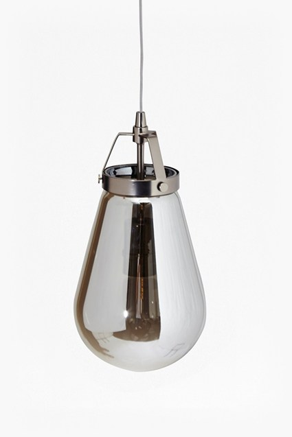 Steel Grey Ceiling Lamp