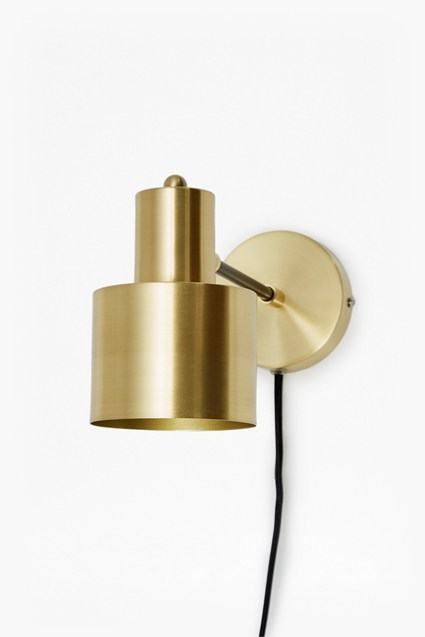 Brass And Matte Black Wall