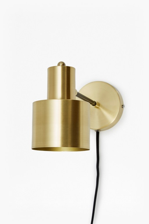 Complete the Look Brass And Matte Black Wall