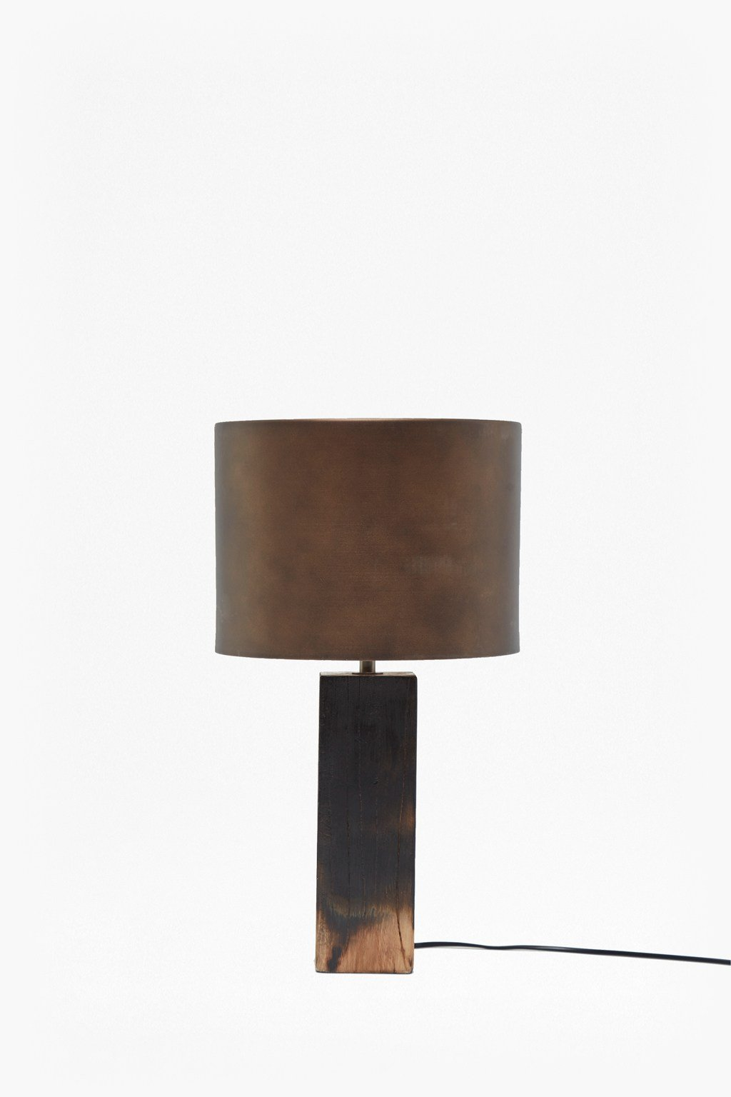 Burnt Wood Ombre Table Lamp Loading Images