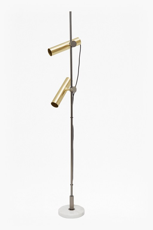 tubular floor lamp