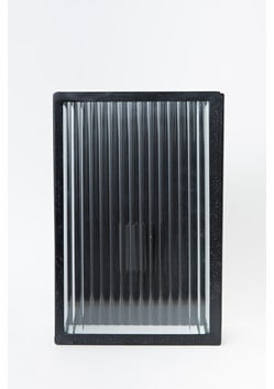 Corrugated Glass Wall Sconce
