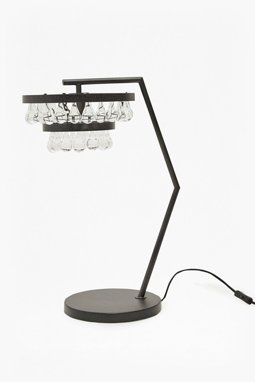 tiered droplet table lamp