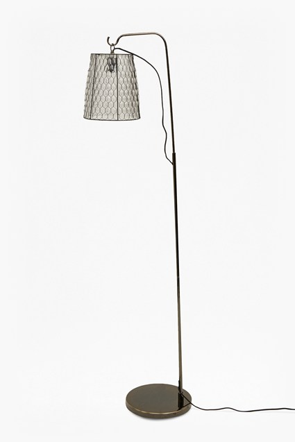 Chicken Wire Floor Lamp