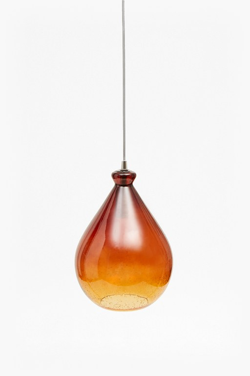 teardrop glass ceiling light