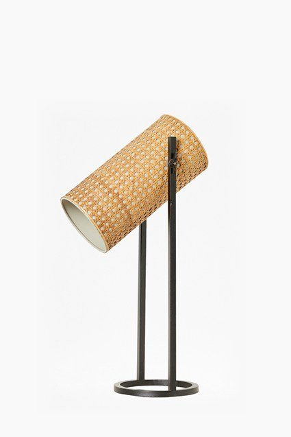 French Cane Table Lamp