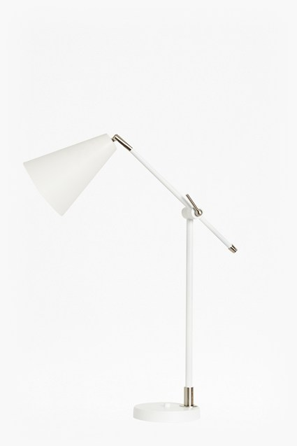 White Reading Table Lamp