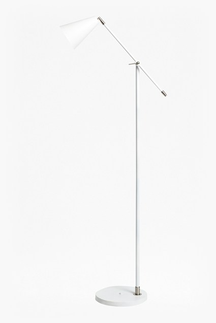 White Reading Floor Lamp