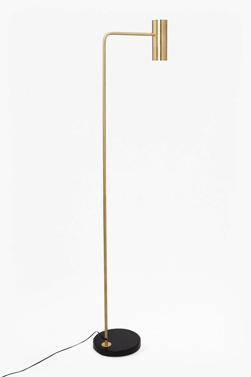 Retro Brass Floor Lamp | Collection | French Connection