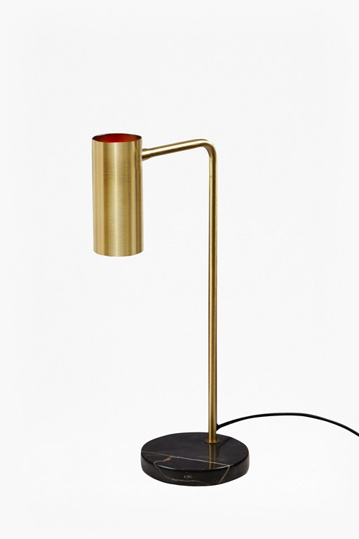 Complete the Look Retro Brass Table Lamp
