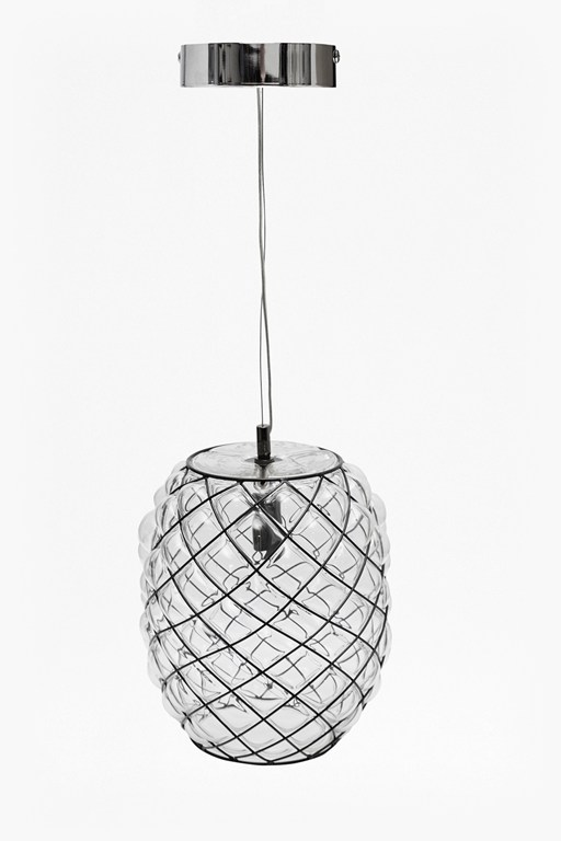 blown mesh ceiling light