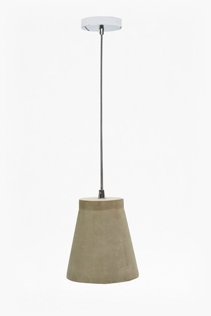 Small Concrete Pendant Ceiling Lamp