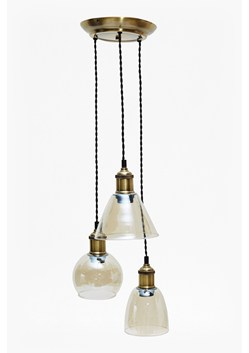 Brass Cluster Pendant Ceiling Light