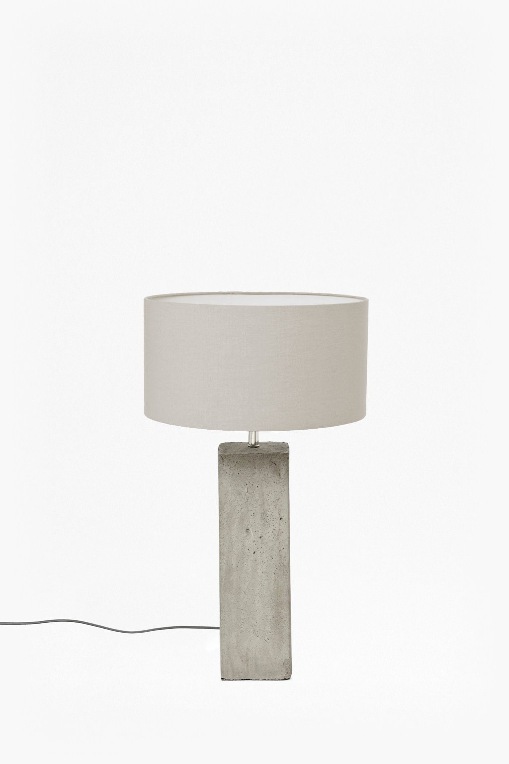 Concrete Table Lamp. Loading Images.