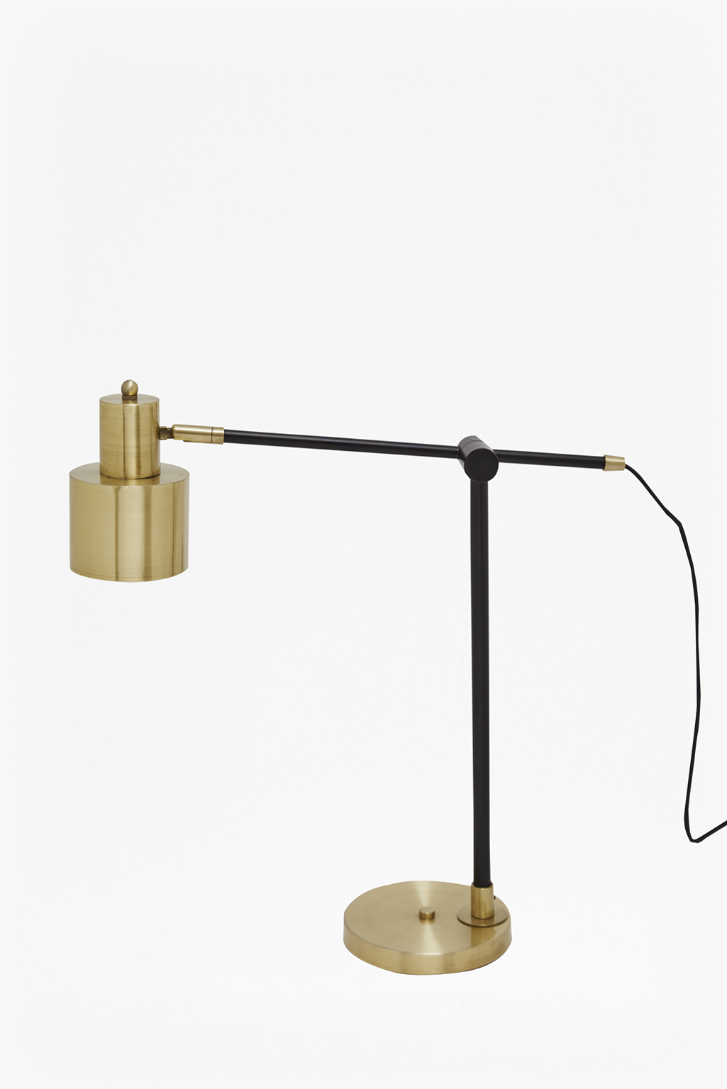 Brass And Matte Black Table Lamp | Orphans | French Connection