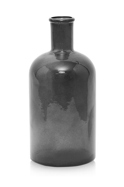 Grey Glass Bottle