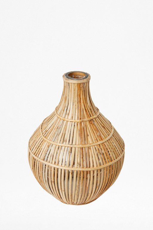 Complete the Look Cane Bulb Vase