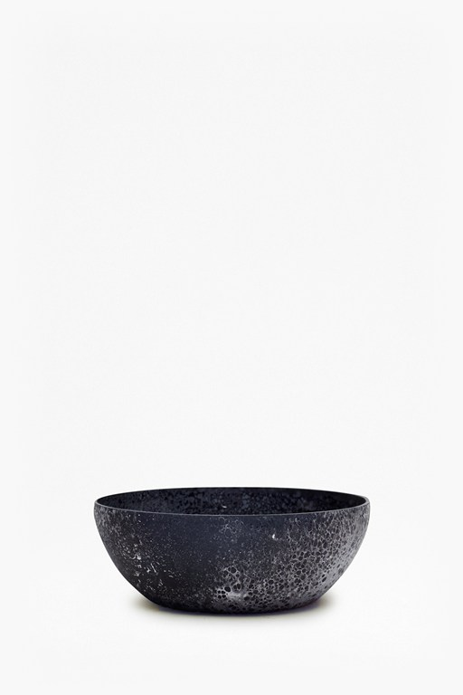 Complete the Look Textured Glass Bowl