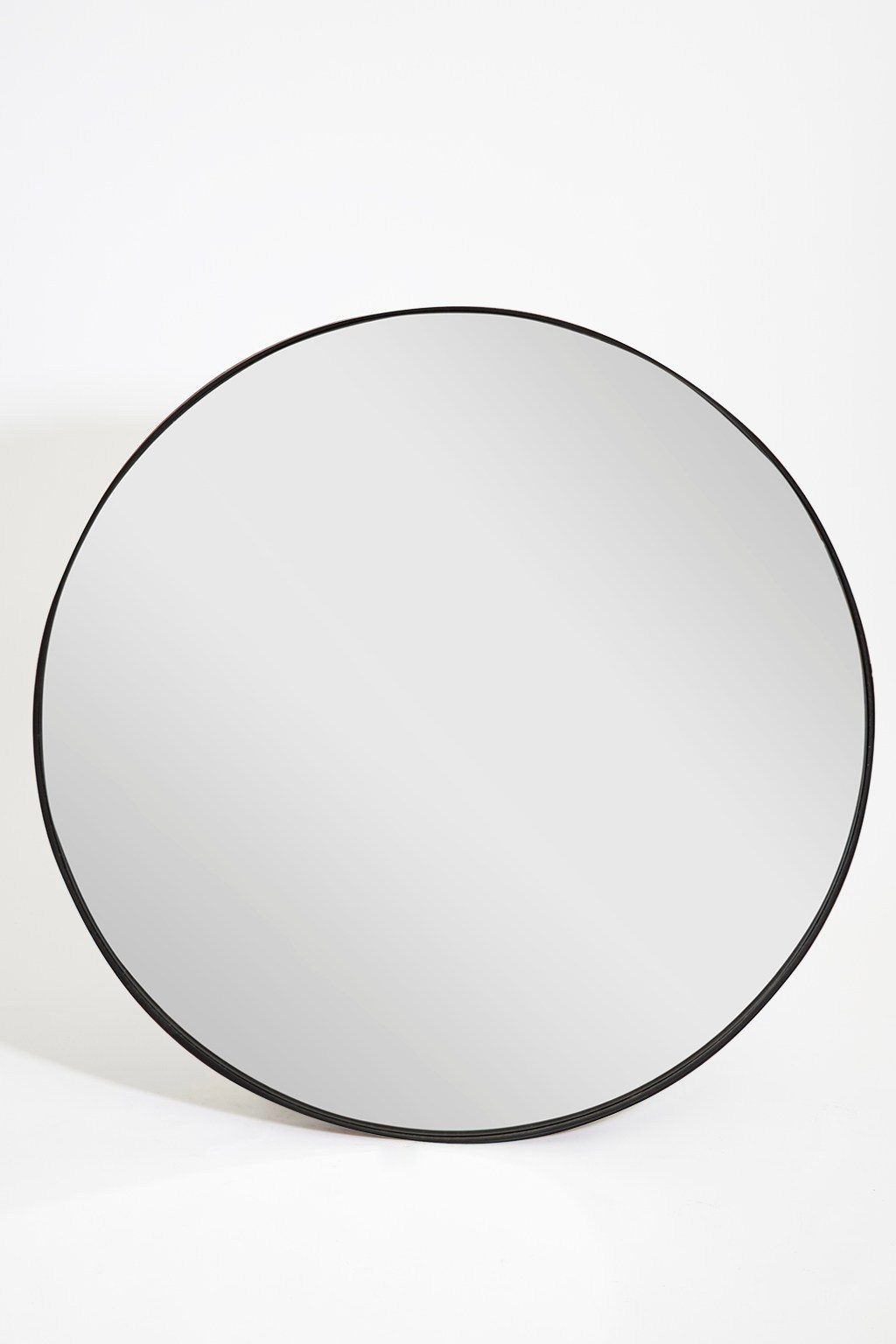 Large Round Industrial Mirror Collection French Connection