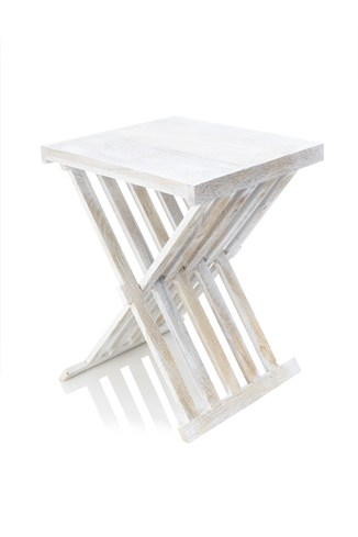 Mango Folding Side Table