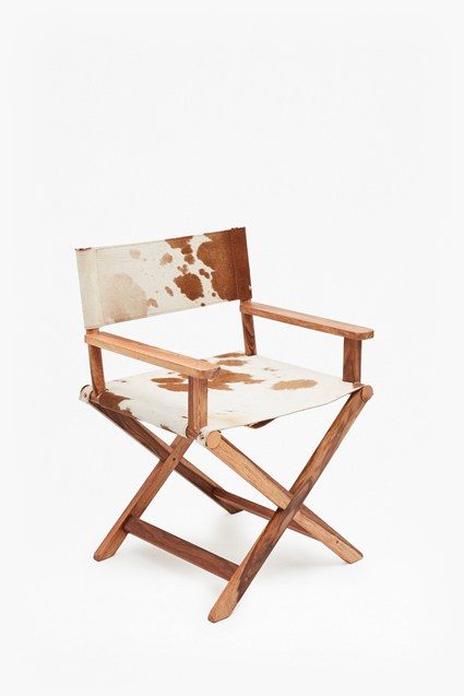 Cowhide Director Chair