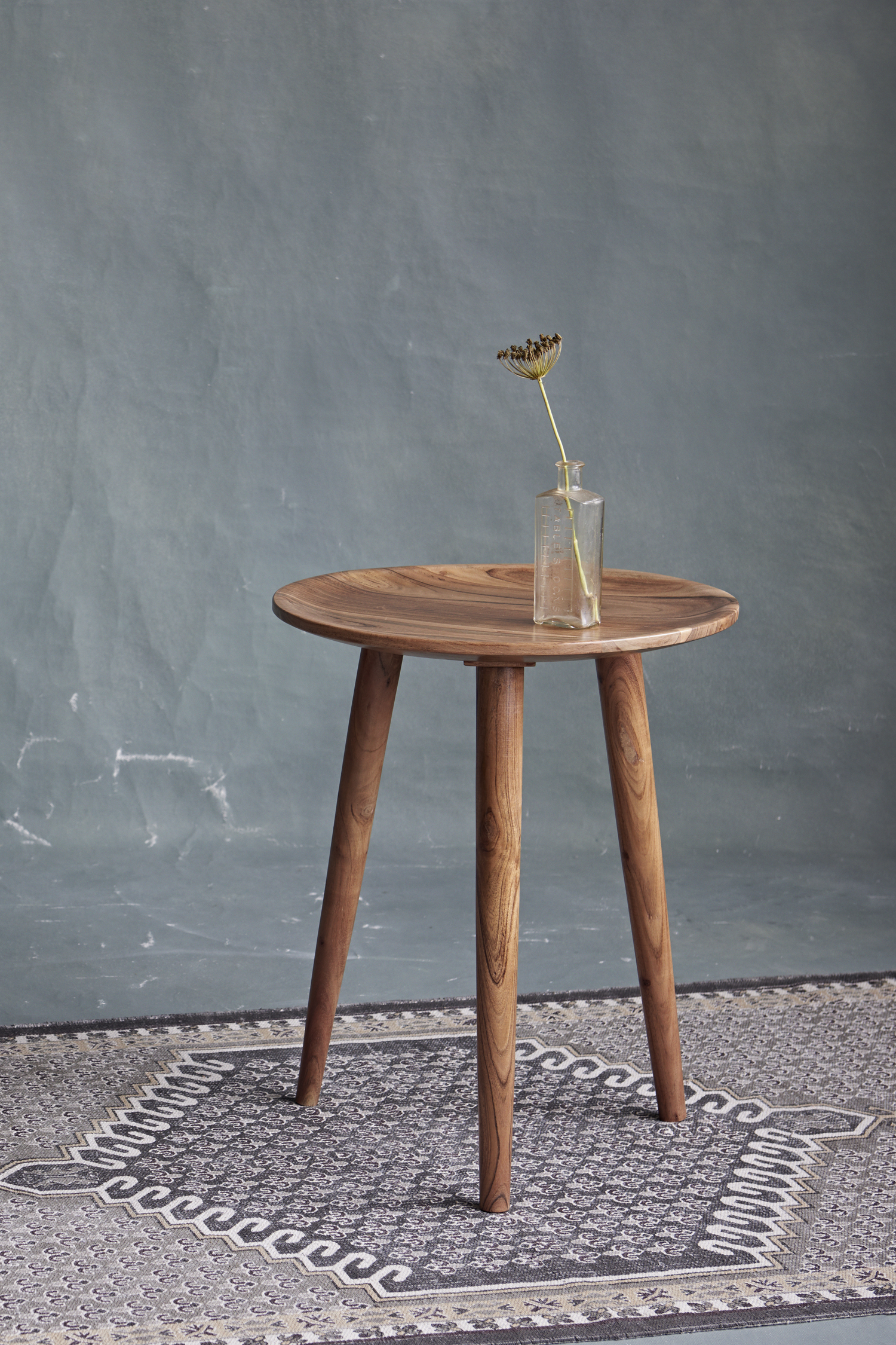 Acacia Round Side Table Collection French Connection