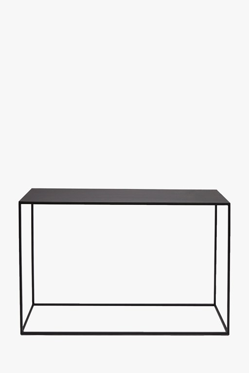 Complete the Look Gunmetal Console Table