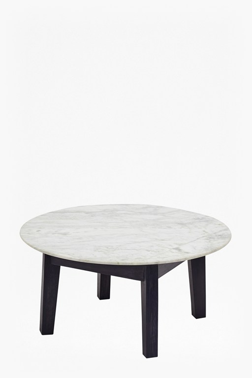Complete the Look Agra Round Marble Coffee Table
