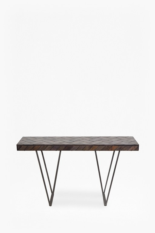 Complete the Look Parquet Console Table