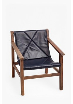 Leather Sling Back Chair