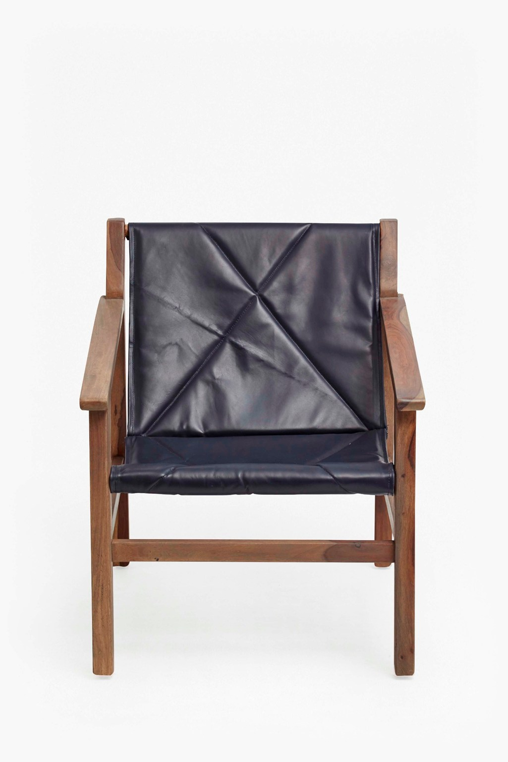 Leather Sling Back Chair French Connection Marvelous