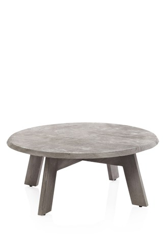 Chalky Wood Coffee Table