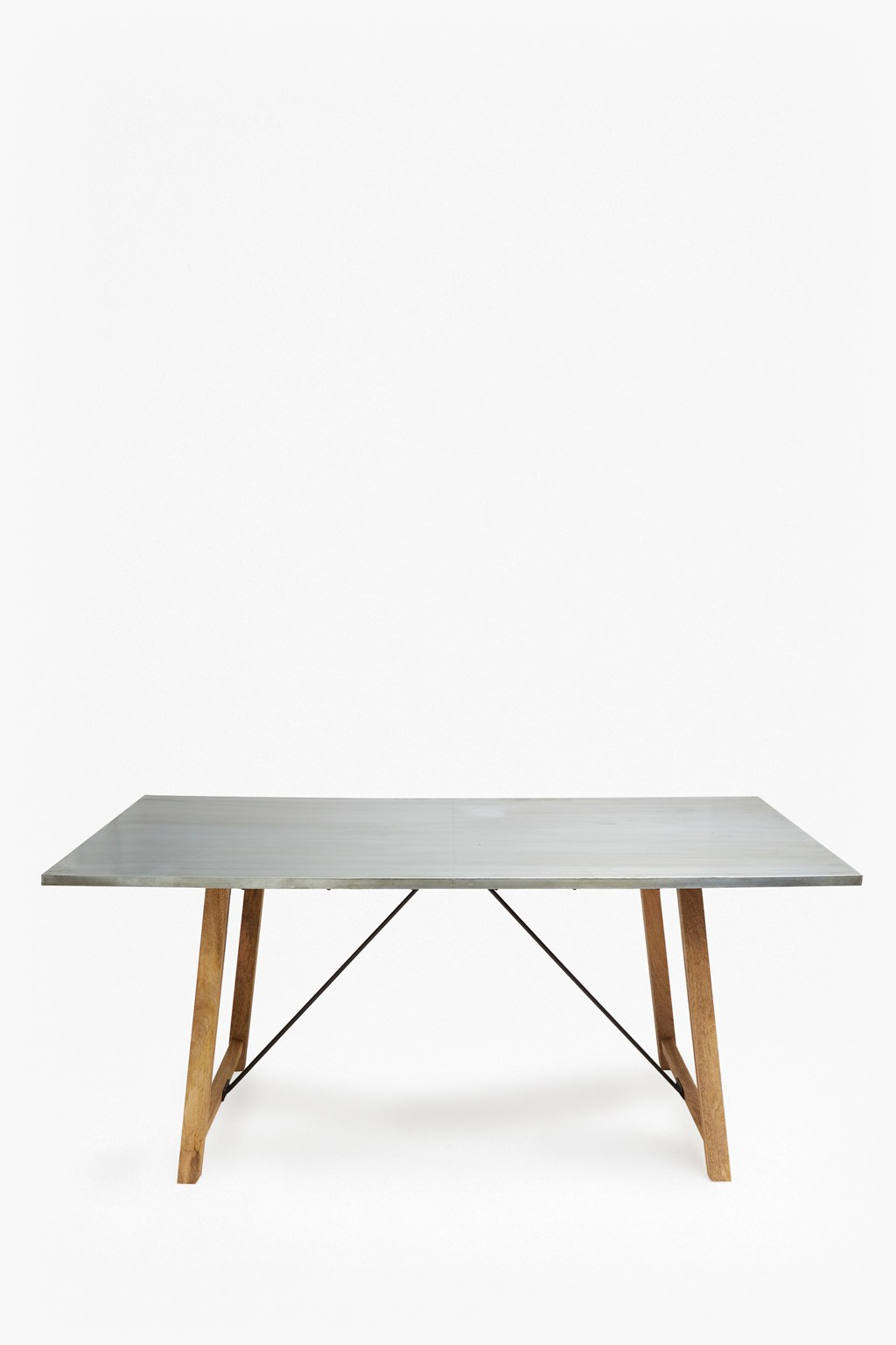Zinc rectangle dining table collection french connection