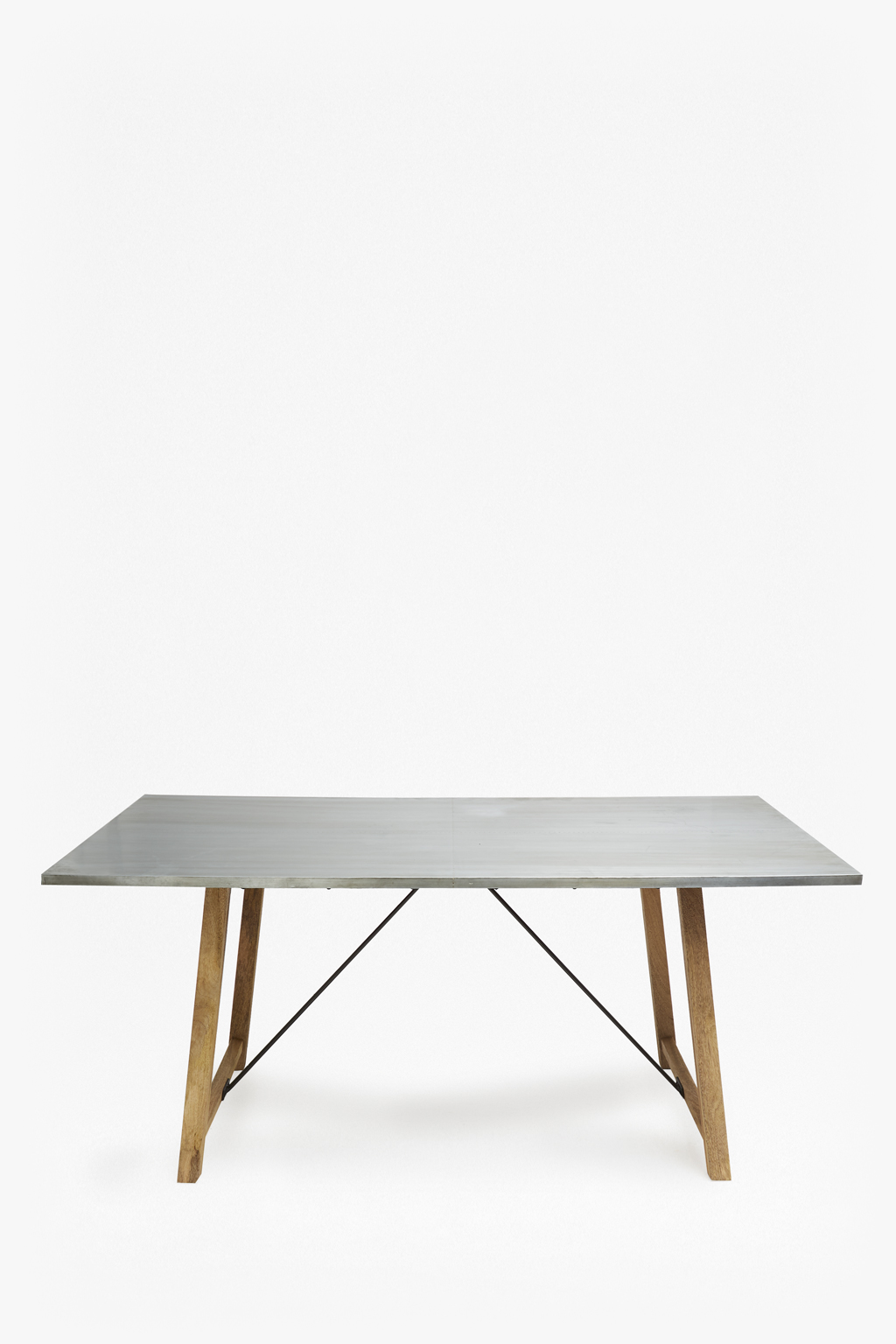 zinc dining table faux zinc rectangle dining table collection french connection