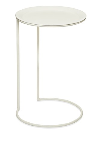 Enamelled Steel Side Table