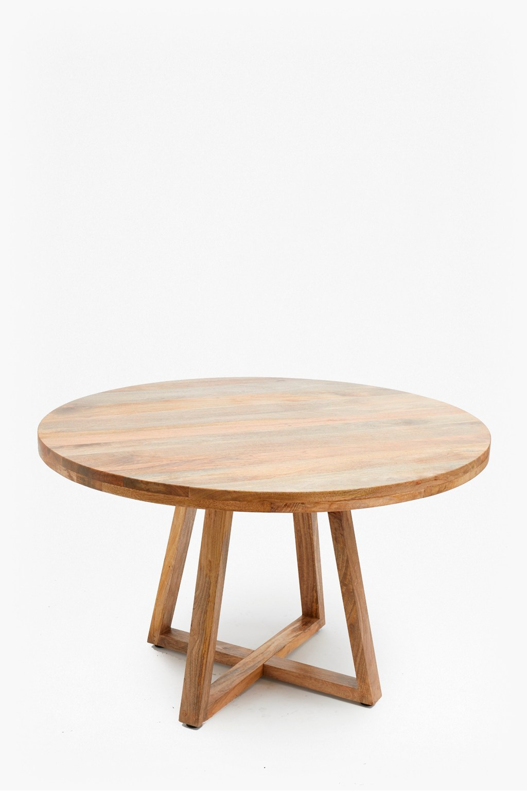 Wood Round Dining Table: Round Wooden Dining Table