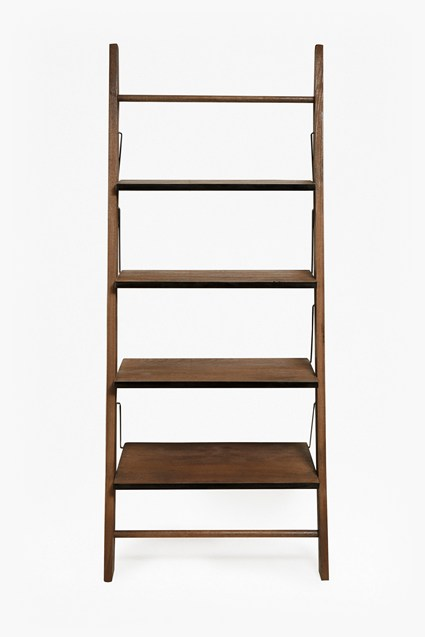 Wood & Zinc Ladder Shelving